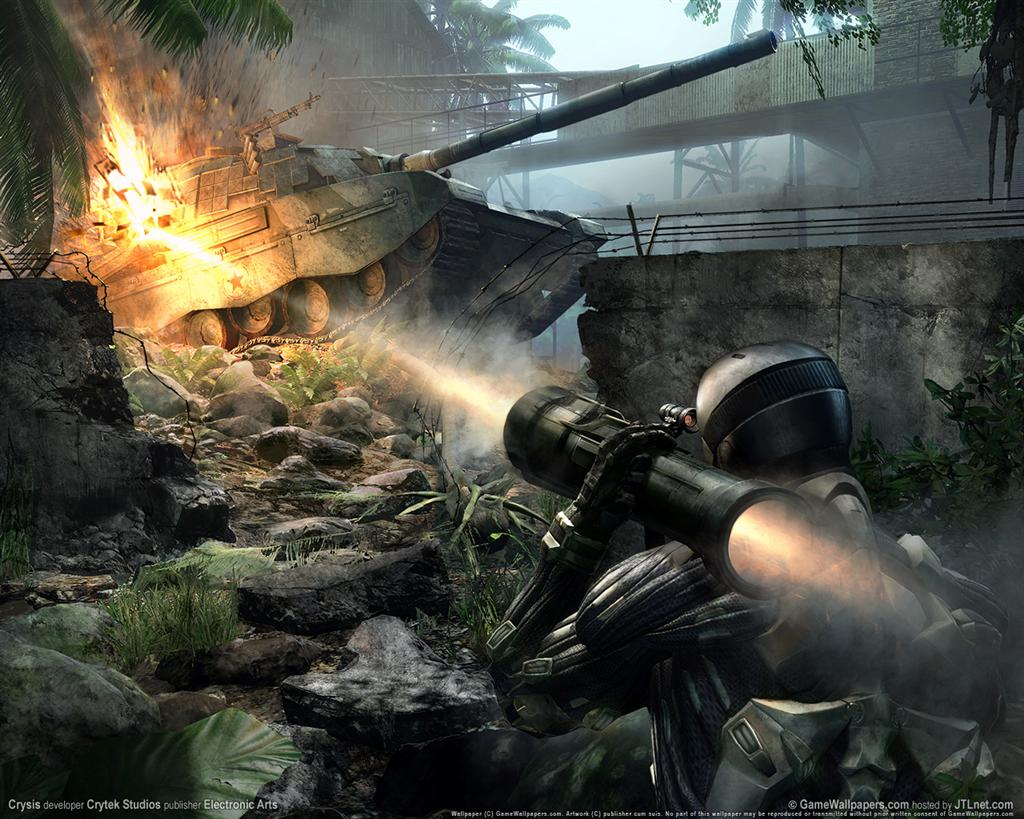 Crysis HD & Widescreen Wallpaper 0.593195118450777
