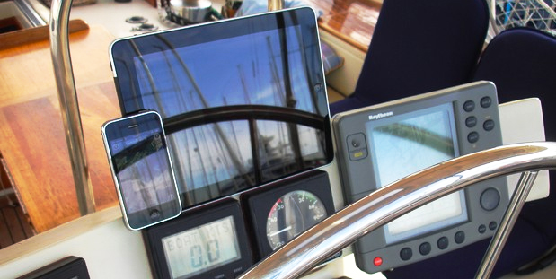 Apps para navegación marítima segura