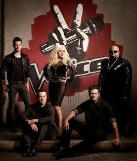 Christina Aguilera The Voice Super Bowl 2012