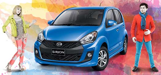 Paket Kredit & Harga OTR Daihatsu All New Sirion Bandung