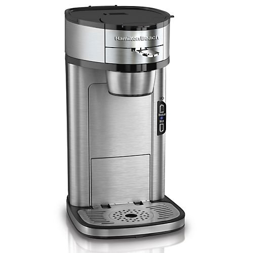 Coffee Maker For One : Hamilton Beach Single Serve Scoop Coffee Maker Best Single Serve Coffee Makers
