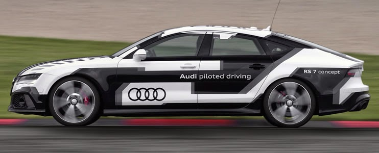 Audi RS7, conducción autónoma