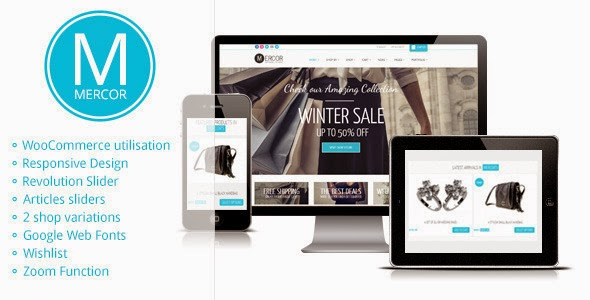 Mercor Responsive WordPress WooCommerce Theme Version 2.2 free