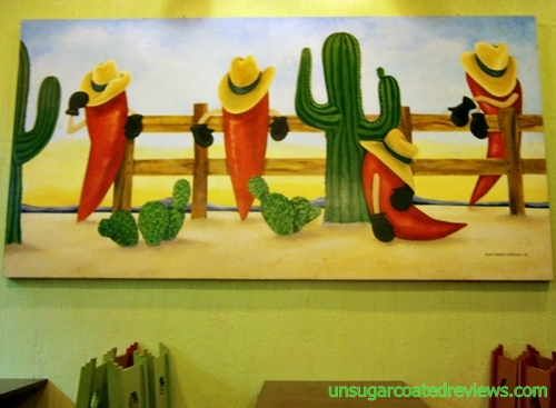 painting at Mexicali Restaurant