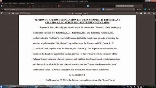 Darr não está minimamente interessado na Recuperação Judicial da TelexFree.