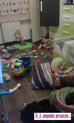 maternidad, recoger, juguetes, tareas, niños, orden en casa