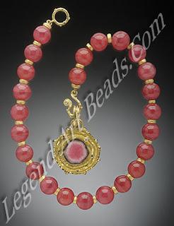 Rhodochrosite jewellery