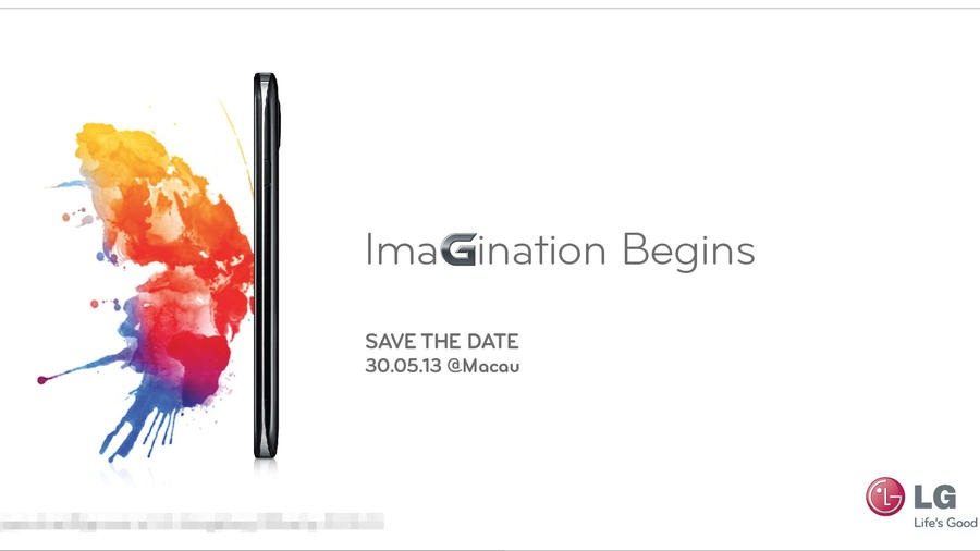 LG Optimus G Pro Launch Invite in China