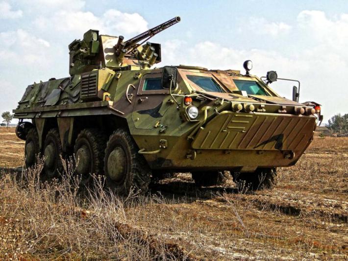 BTR-4 Amphibious Armoured Vehicle