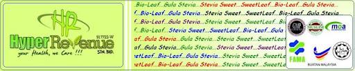 Hyper Revenue Sdn. Bhd. - stevia sweet, sweetleaf, bio-leaf, gula stevia