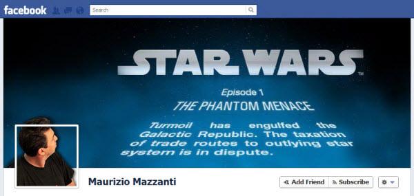 maurizio mazzanti facebookfever Amazing Creative Facebook Timeline Covers