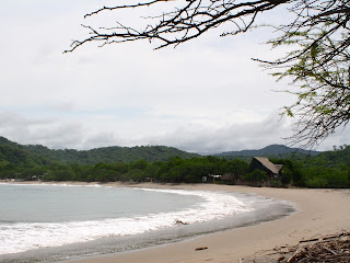 Playa Gigante looking north after walking through the rainforest trail from Aqua Resort. Photo: AR Kirwin
