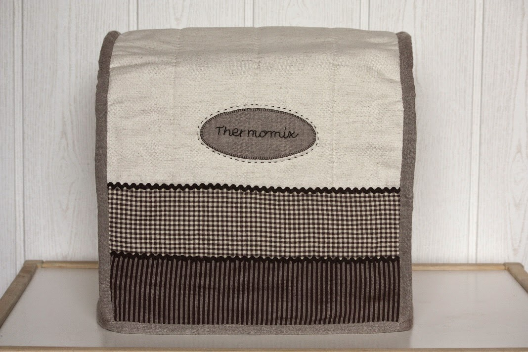 Guadipatch funda para thermomix de patchwork for Funda thermomix ikea