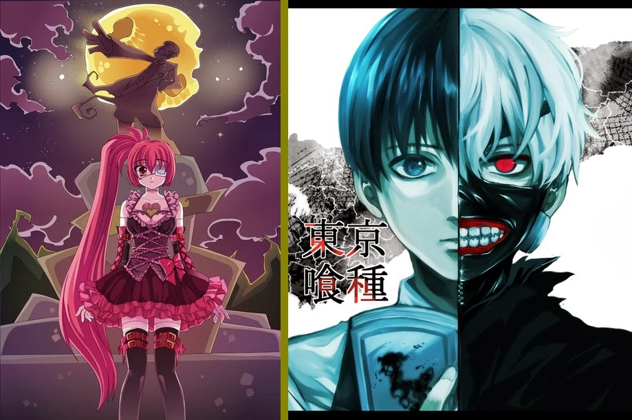 Hungry Zombie Francesca e Tokyo Ghoul