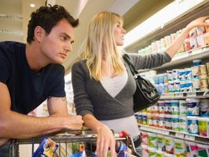 Is Your Girlfriend Using You - man and woman at supermarket