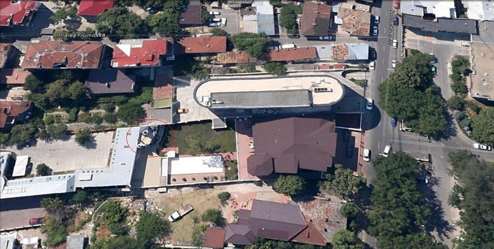 castel disney bucuresti vedere din satelit