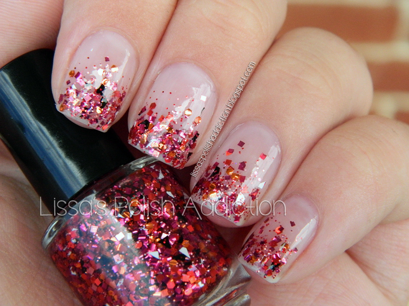 Lissa\'s Polish Addiction: Shades Of Phoenix - Chaos Glitter Tips