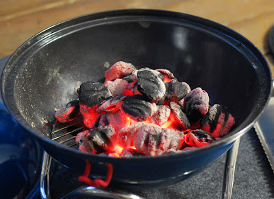 fiery coals, charcoal grill, Kingsford