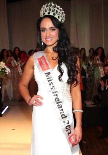 Marie Hughes Crowned Miss Ireland 2012