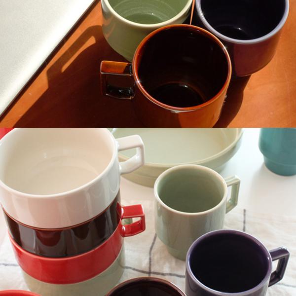 HASAMI 波佐見焼 はさみやき スタッキングできるマグカップ