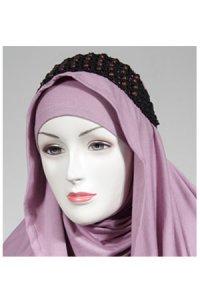 HeadBand AE1 - Coklat Tua (Toko Jilbab dan Busana Muslimah Terbaru)