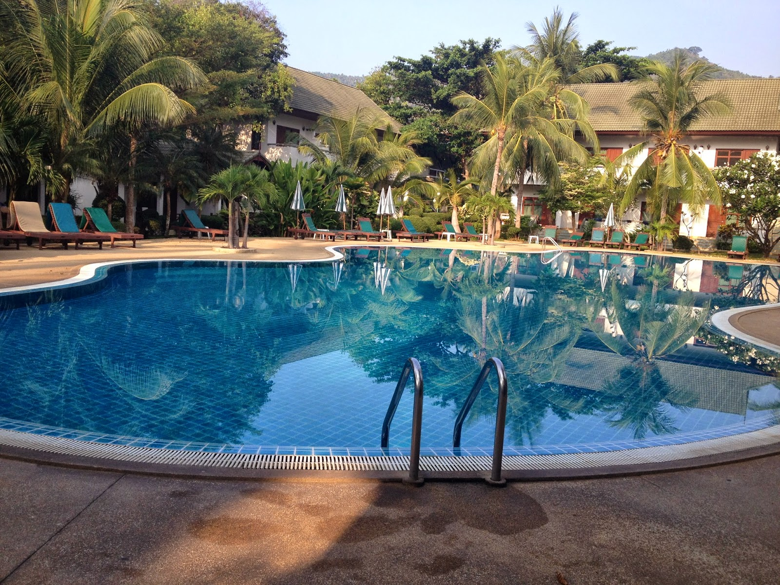 First Bungalow Beach resort pool review