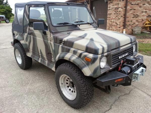 1988 suzuki samurai 4x4 for sale 4x4 cars. Black Bedroom Furniture Sets. Home Design Ideas