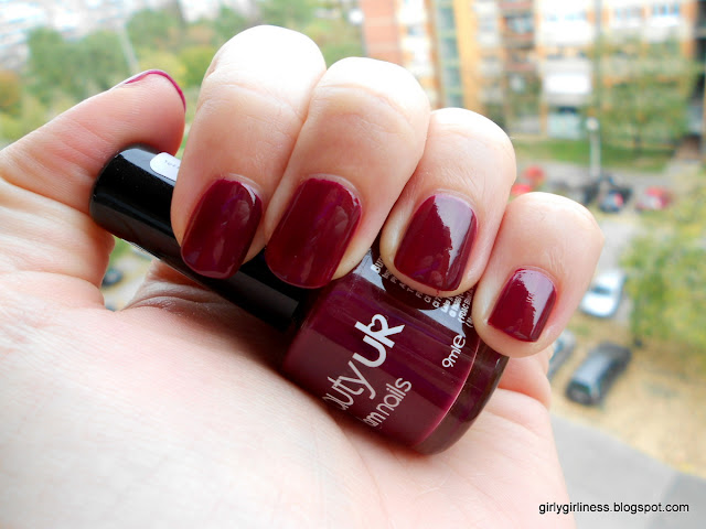 beauty uk lak za nokte tamnocrveny burgundy