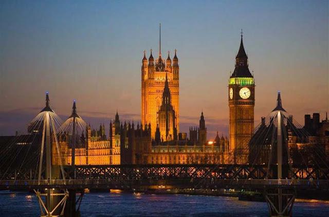 Parlamento Inglês - voto distrital