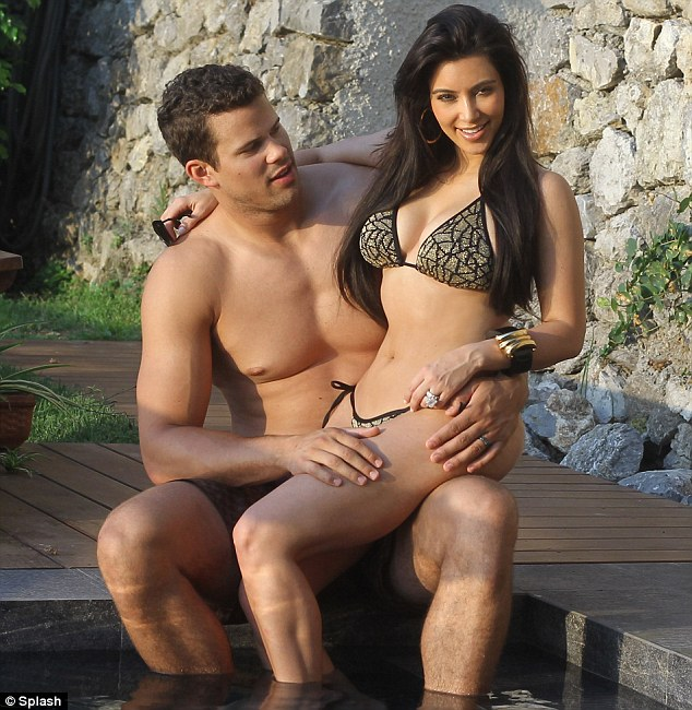 add caption kim kardashian and kris humphries honeymoon kim kardashian
