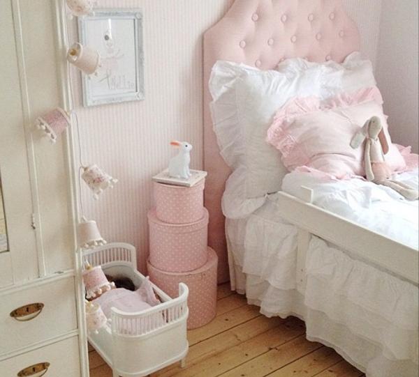 Ideas deco habitaciones infantiles de estilo n rdico para for Dormitorio estilo nordico blanco