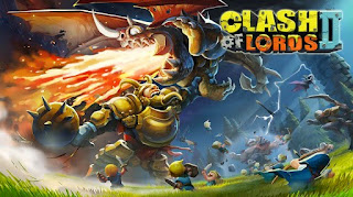 Screenshots of the Clash of Lords 2 for Android tablet, phone.