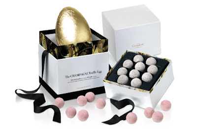 champagne truffle easter egg