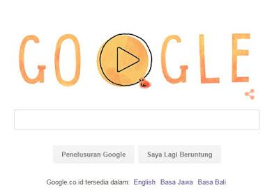 Google Doodle Rayakan Hari Ibu Nasional 2015