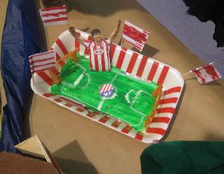 L@s alumn@s han aprovechado la ocasión para homenajear a sus equipos de fútbol favoritos