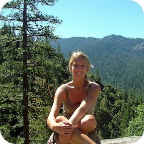 Jennifer Gunnes on the Chilnualna at Yosemite