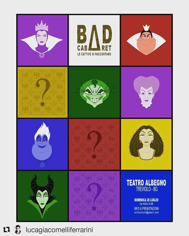 """BAD CABARET"" regia di Luca Giacomelli Ferrarini e Cristian Ruiz"