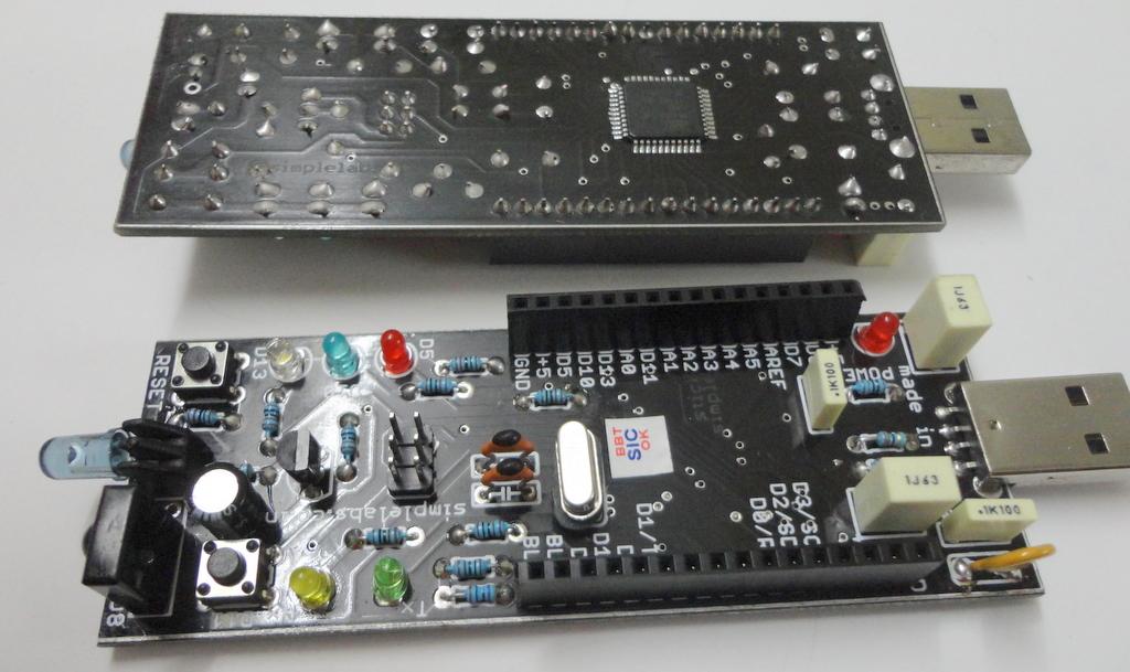 Simple labs stick arduino leonardo clone users guide