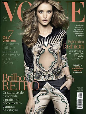 Rosie Huntington-Whiteley Sexy in Vogue