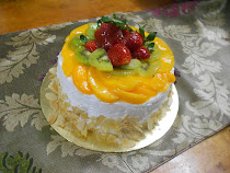 Cake Fruit Flan