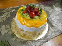 Cake Fruit Flan