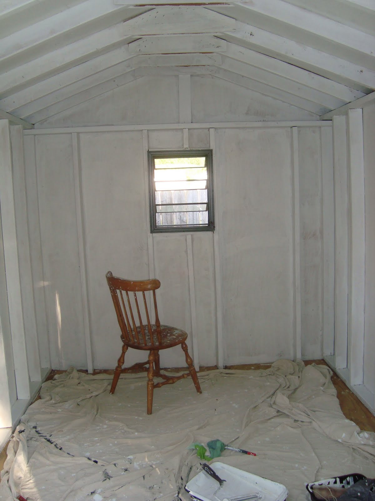 Sometimes Simple The Playhouse Part 3 Painting The Interior