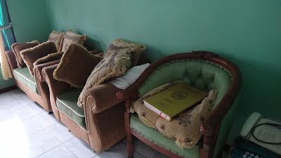 Koran, living room, Indonesia