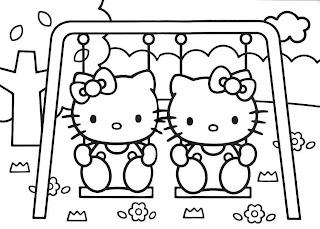 Imagens para pintura e patchwork Hello Kitty