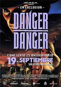 Concierto de Danger Danger en Madrid en septiembre