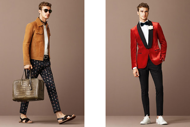 Bally Spring/Summer 2016 Men's Lookbook