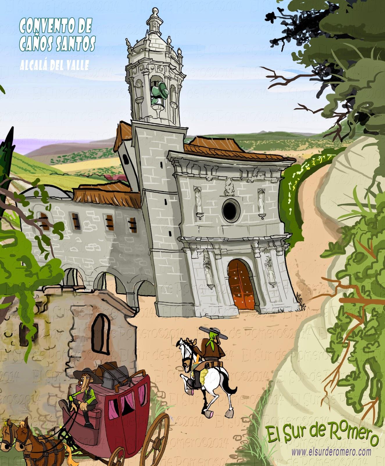 """<img src=""""Convento Caños Santos.jpg"""" alt=""""dibujos de Alcalá del Valle""""/>"""