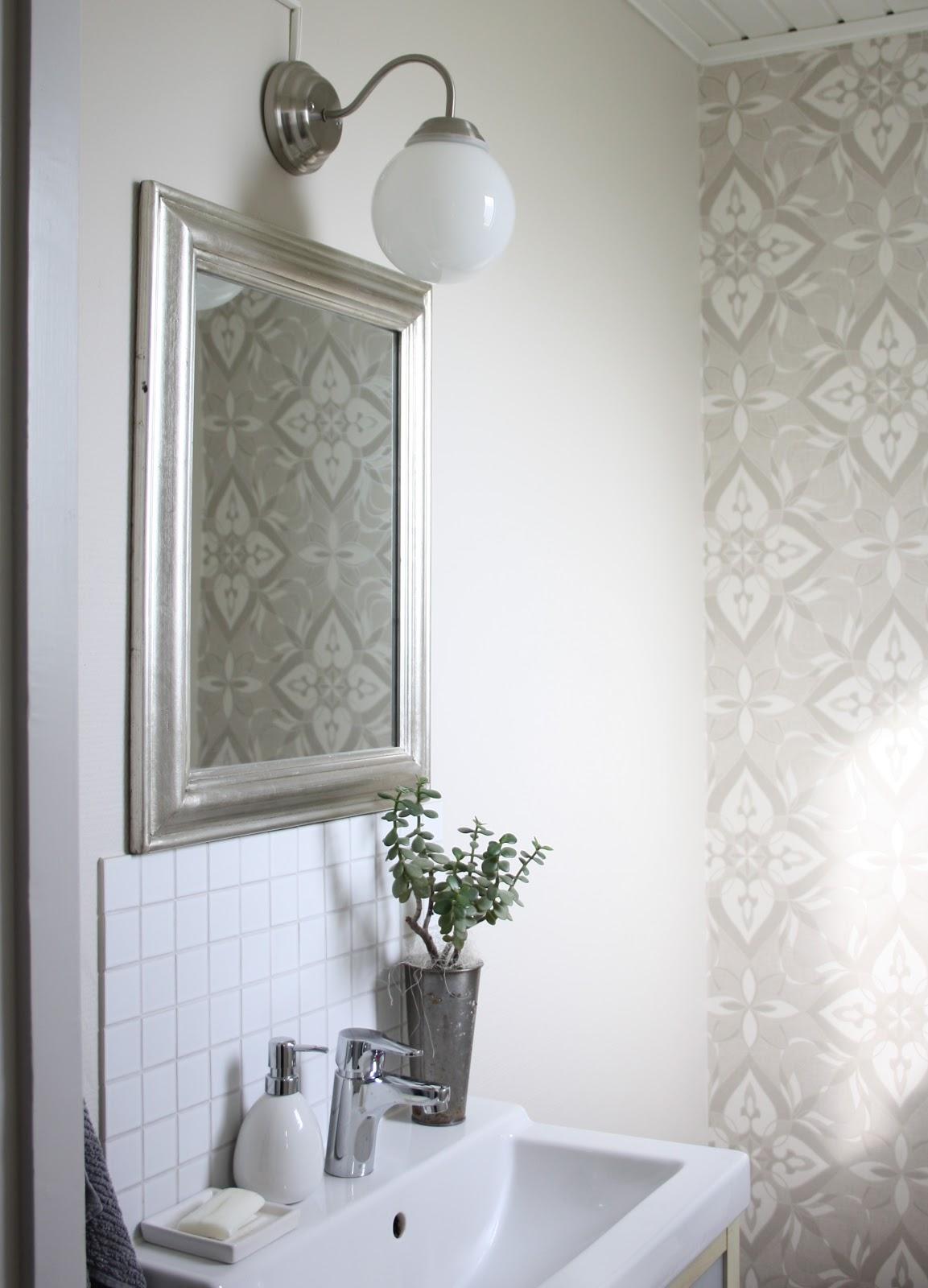 Inredning gästtoalett inspiration : Dagdrömmar & Verklighet: Budgetrenovering av toalett