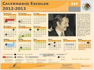 CALENDARIO OFICIAL SEP 2012-2013
