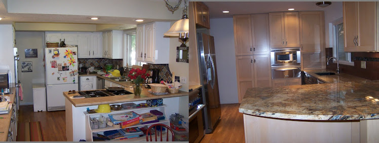 Before and After Photos of Remodeled Kitchen